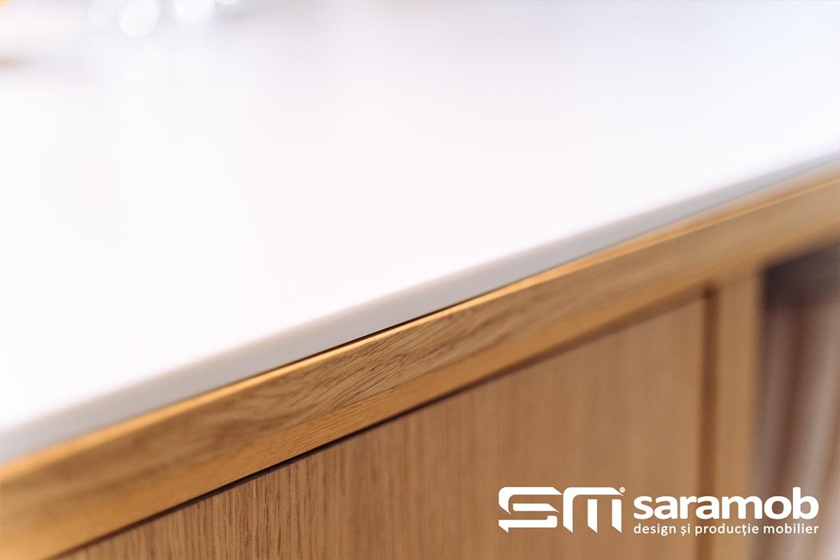 Tipuri de materiale pentru blatul de bucatarie saramob mobila comanda